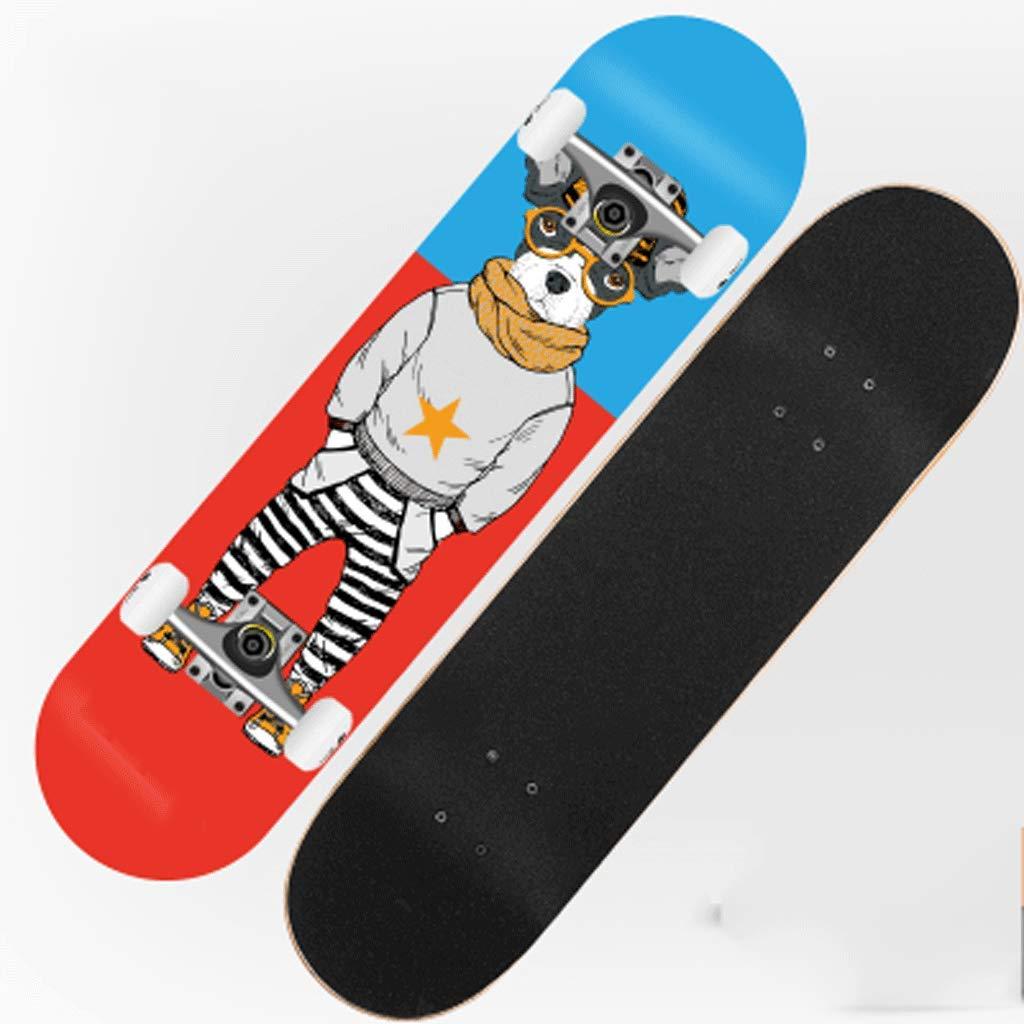 【同梱不可】 スケートボード大人の女の子ストリート四ラウンド二国間傾斜スケートボード初心者子供の男のステップ (色 : Dog Ghost) : B07KXQ1GTH Dog B07KXQ1GTH Dog, 東加茂郡:50f2d1ce --- a0267596.xsph.ru