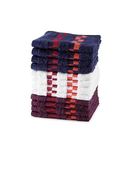 Kitchen Towel Set 4 pcs Dishtowels 30 X 40 cm 100 Cotton Ultra durable Towels