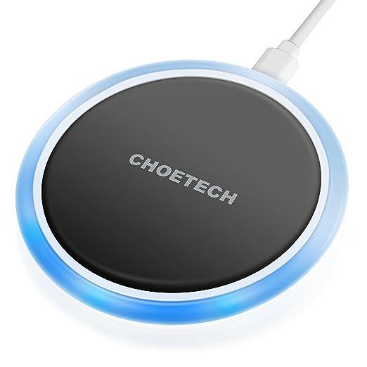 14 opinioni per Caricabatteria Wireless Qi, Choetech [Circolare] Caricatore Wireless con