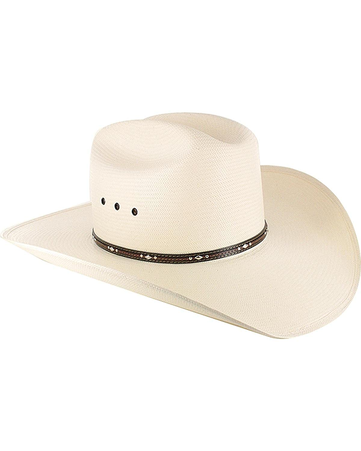 Resistol Men s George Strait Kingman 10X Straw Cowboy Hat - Rskngk-304281  at Amazon Men s Clothing store  573dda1307a