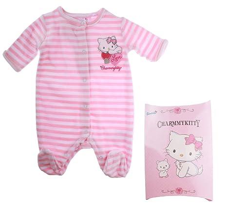 Pijama con caja de regalo para bebé, diseño de Hello kitty para niños de 0