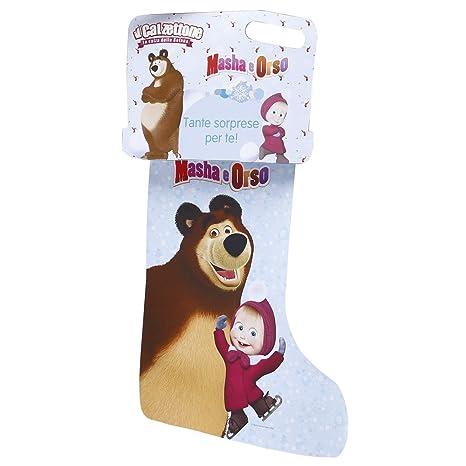 Giochi preziosi calzettone masha e orso loriginale calza della
