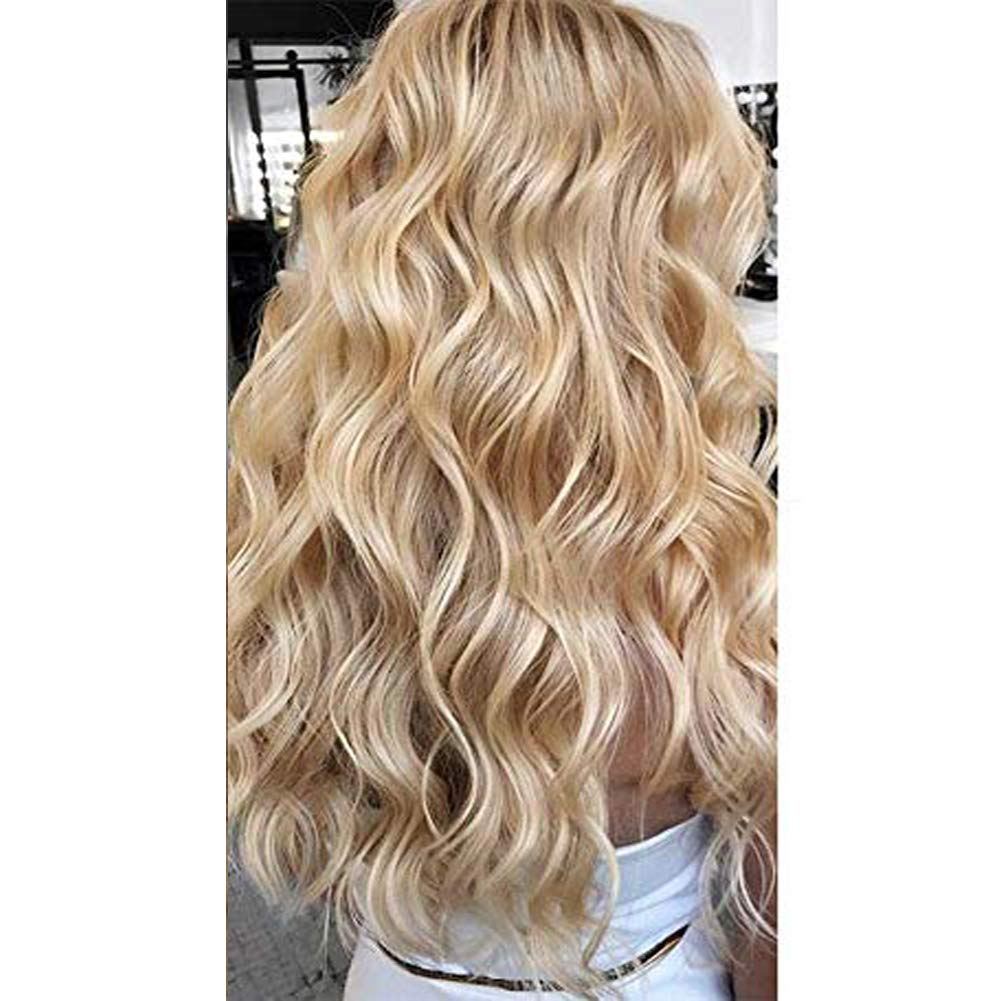 【Easter's Off Starts】Moresoo Two-tone Colored Tape in Hair 20inch Bleach Blonde #613 Mixed with Honey Blonde 50g/20pcs 100 Remy Human Hair Seamless Hair Extensions Glue on Hair Extensions
