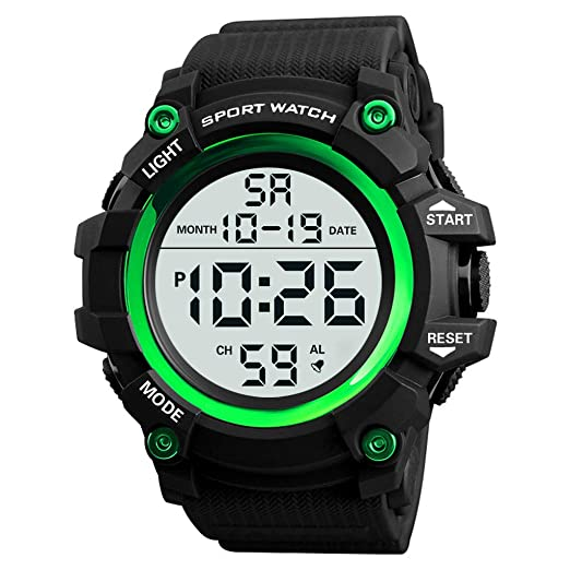 Reloj De Pulsera,Men Watch Digital Military Sport Led Waterproof: Amazon.es: Relojes