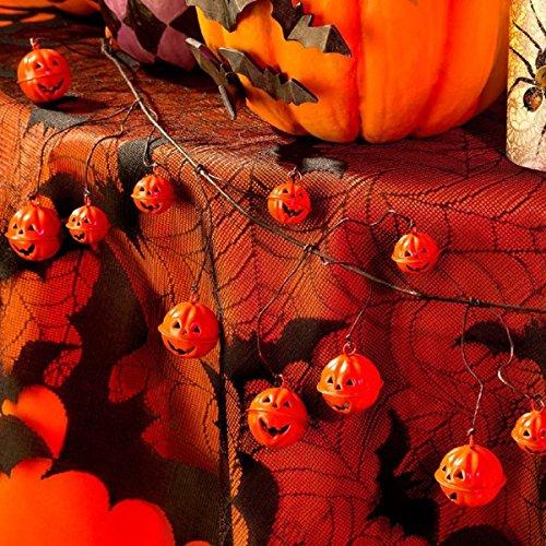 ghi 60 in Halloween Jack o Lantern Garland