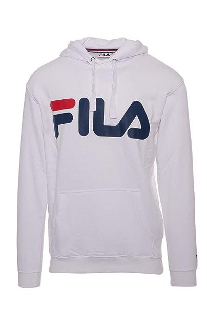 Fila Felpa Uomo 681462M67 Cotone Bianco: Amazon.it ...