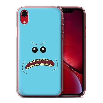 Stuff4 Coque Gel Tpu De Coque Pour Apple Iphone Xr En Colère