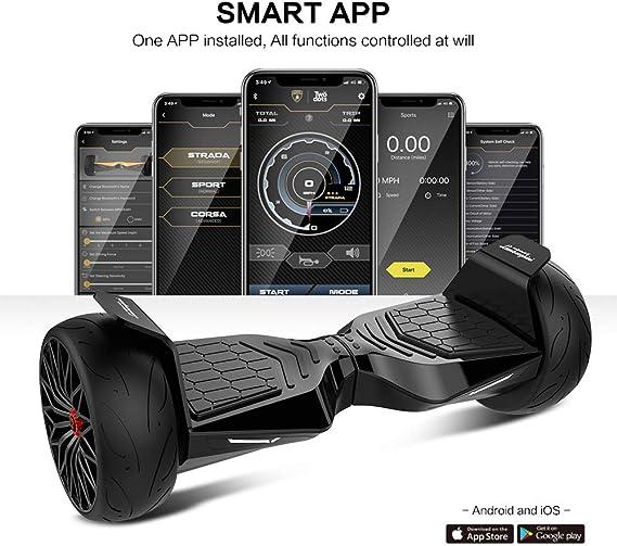 Amazon.com: LAMBORGHINI TwoDots Hoverboard 8.5