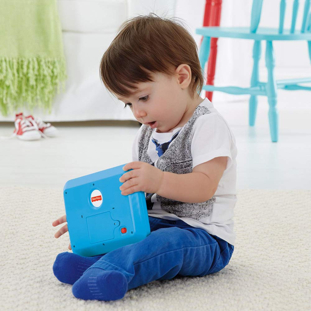 Fisher-Price Laugh & Learn Smart Stages Tablet, Blue by Fisher-Price (Image #7)