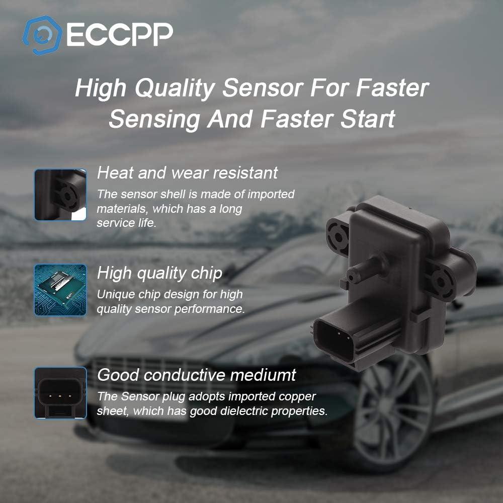 2003-2005 Ford Excursion 2004-2010 Ford E-350 Super Duty 2004-2007 2009 Ford E-450 Super Duty ECCPP Manifold Absolute Pressure Sensor MAP Sensor Fit for 2003-2005 Ford E-350 Club Wagon