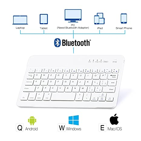 d2498bbee3c Wireless Bluetooth Keyboard,SymbolLife 3 System Compatible (Android/Windows/iOS)  10