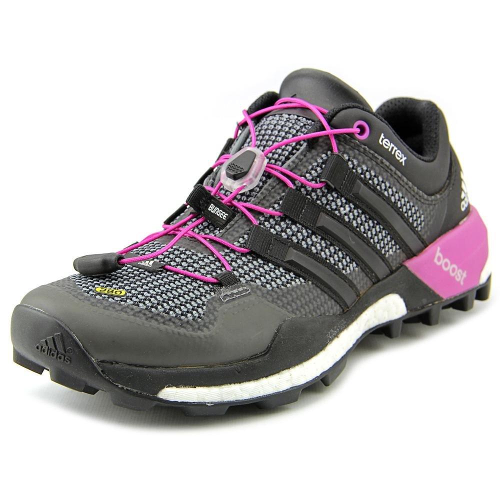 adidas Outdoor Terrex Boost Trail Running Shoe - Women's Vista Grey/Black/Flash Pink 6.5