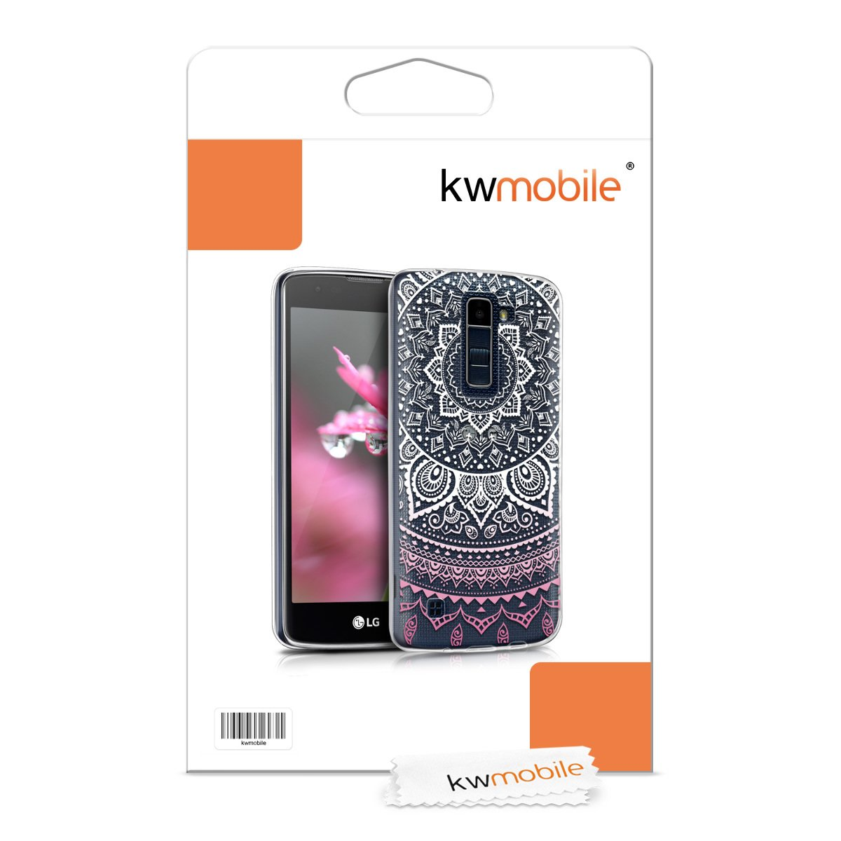 Amazon.com: kwmobile TPU Silicone Case for LG K8 LTE (2016 ...