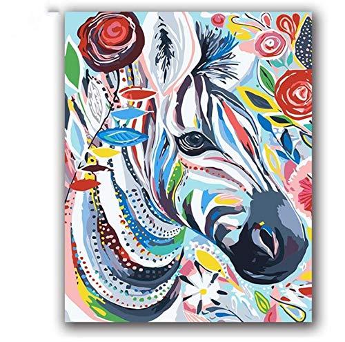 XIGZI Blaue Meerjungfrau Ölfarbe Gemälde Zeichnen Bilder nach Zahlen mit Kits auf Leinwand Cartoon Anime handgefertigte Illustrationen Malen nach Zahlen 40X50 cm,Mit Holzrahmen,J B07NYTX3RL | Niedriger Preis