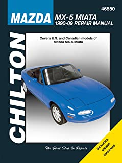 amazon com mazda mx 5 miata chilton repair manual 1990 2014 rh amazon com Pontiac Shop Manual 2007 Workshop Manuals Oilfield Well Testing