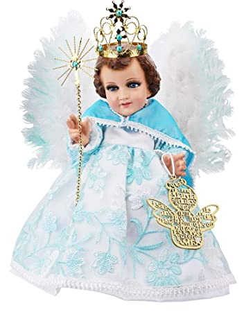 Amazon.com: Angel de la Guarda Traje de Niño Dios. Guardian ...