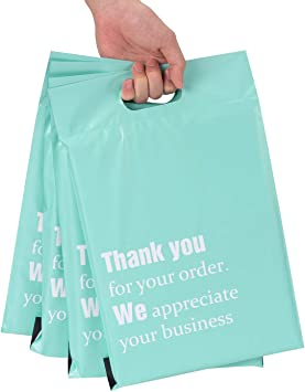 """100 Pcs Clear View Poly Mailer 10/"""" x 13/"""" Mailing Envelopes 2 Mil Bags"""