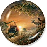 Sunset Harvest by Terry Redlin 8.25 inch Decorative Collector Plate