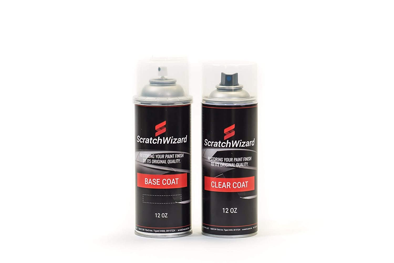 Automotive Spray Paint for Buick Enclave WA800J/98/GBN (White Diamond Pearl Tricoat) Spray Paint Kit by Scratchwizard