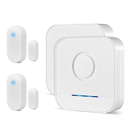 Wireless Doorbell Sensor Chime Bistee Entry Home Door Window