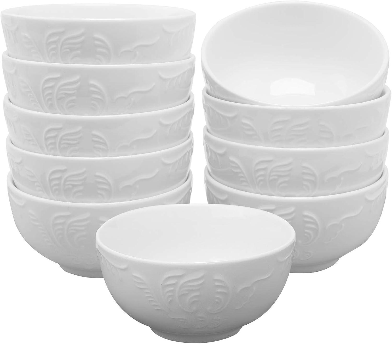 White Color 1 Piece KAHLA Five Senses Medium Bowl 6-1//4 Inches
