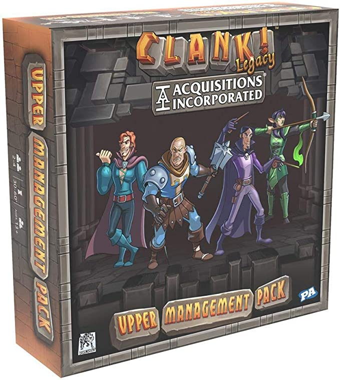 Imagen deRenegade Game Studio RGS2001 Clank Legacy: Acquisitions-Upper Management Pack, Mixed Colours