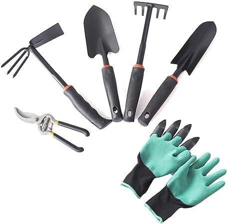 Juego de herramientas de jardinería WYPG de 6 piezas, juego