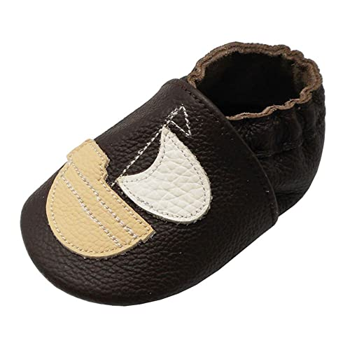 d38a8d9b32a17 Amazon.com | Yalion Baby Soft Sole Leather Shoes Infant Toddler ...