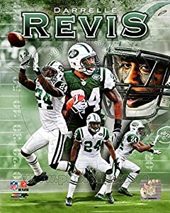 Darrelle Revis 2011 Portrait Plus Photo 8 x 10in
