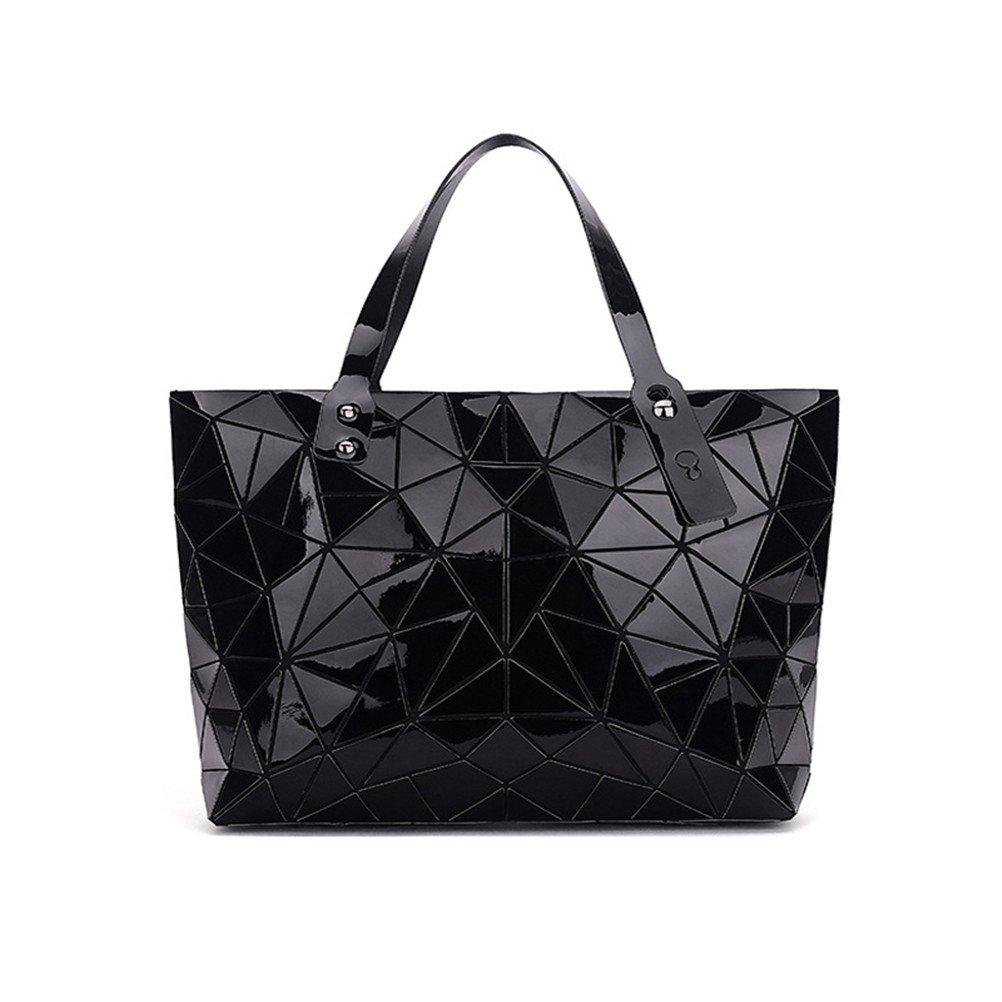 d7638b1f49b4 Amazon.com  Geometry Luxury Designer Brands Ladies Handbag Geometric Bag  Women Big Shoulder Bag  Clothing