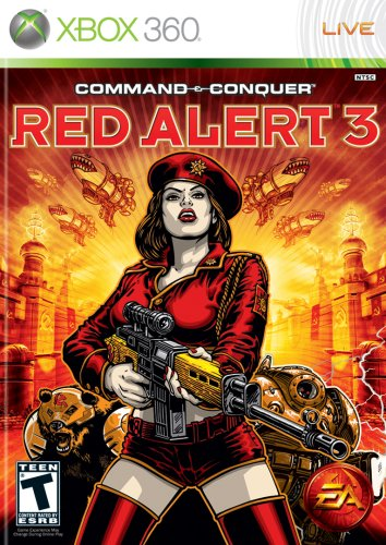 Command & Conquer: Red Alert 3 - Xbox - 360 Xbox Red Console