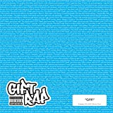 """Gift Rap: """"O.P.P."""" officially licensed rap lyric wrapping paper (Blue)"""