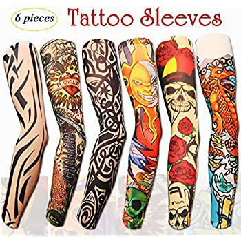 efivs arts fake temporary tattoo sleeves toys