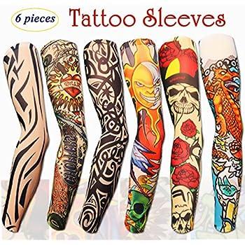 Efivs arts fake temporary tattoo sleeves toys for Temporary tattoos sleeve
