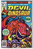 #10: DEVIL DINOSAUR #1, VF, Jack Kirby, Moon-Boy, T-Rex, 1978, more JK in store