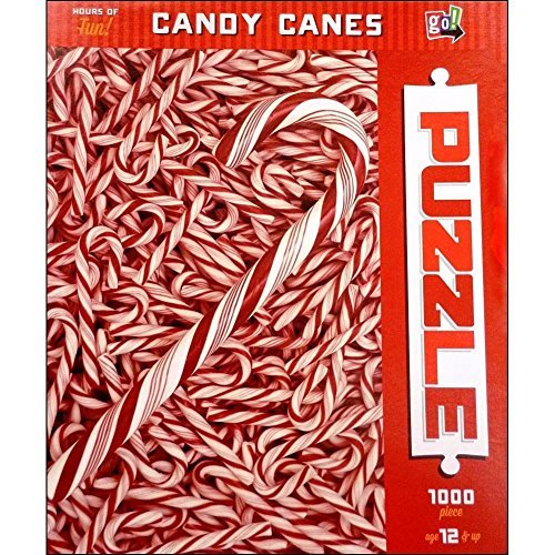 Candy Canes 1000 Piece Puzzle