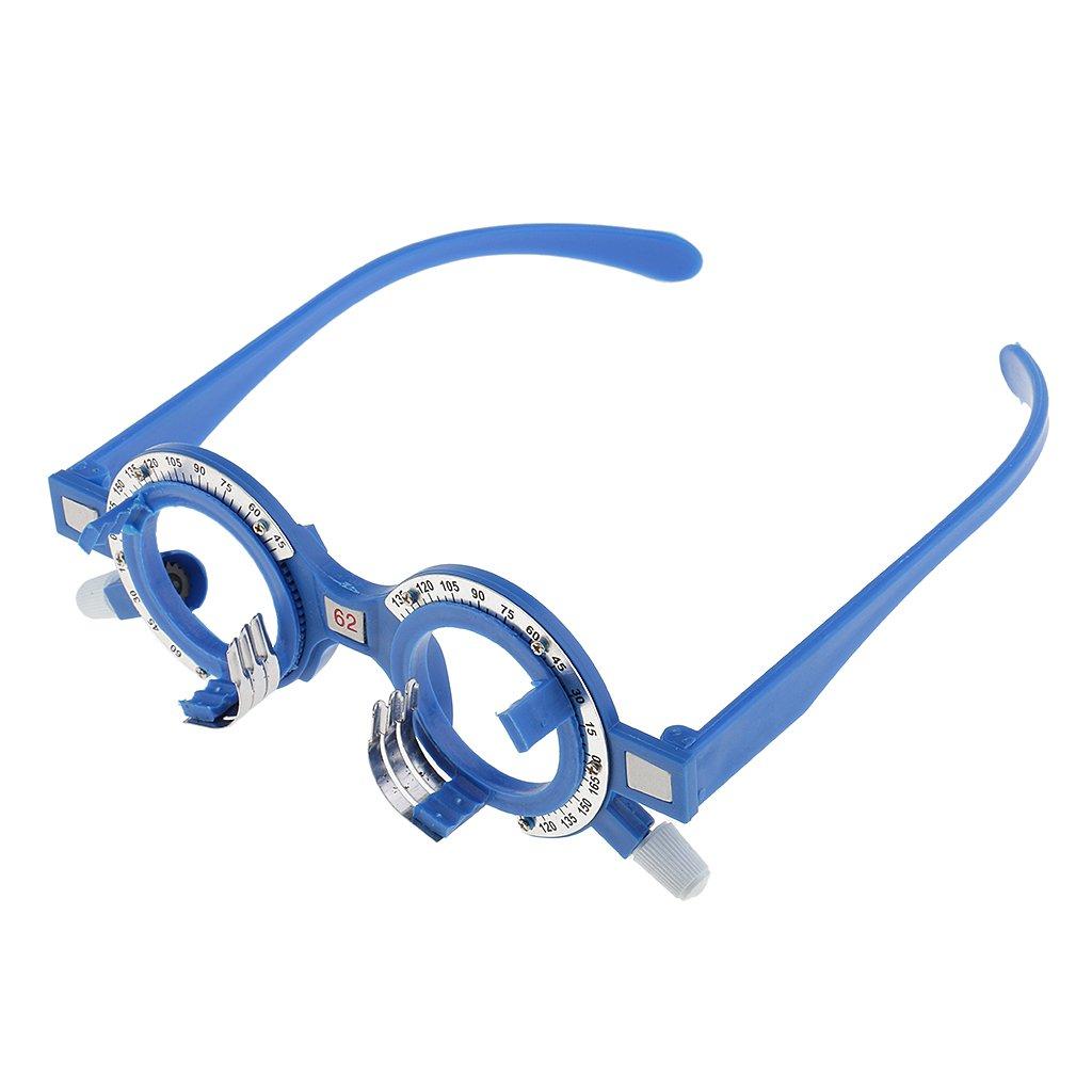MagiDeal Struttura di Ottica di Prova di Plastica Ottico Lens Telaio Optometria Occhiali Ottico Occhiali da Vista Attrezzatura