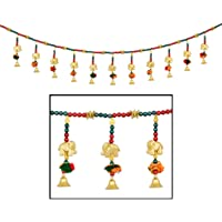 AMBA HANDICRAFT Door Hanging Toran Window Valance Dream Catcher Home Décor Interior Pooja bandanwaar Diwali Gift…