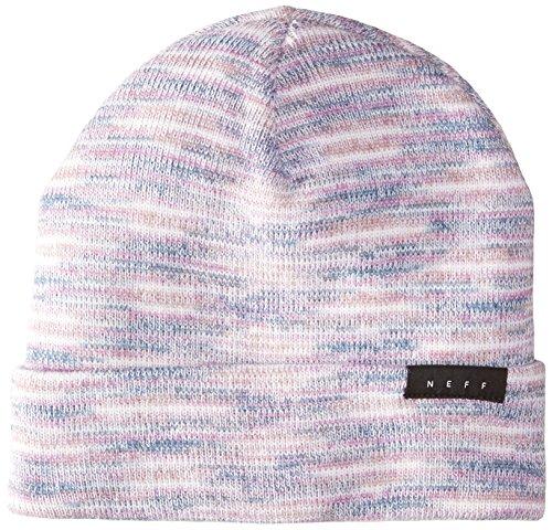 NEFF Men's Devon Slouchy Hat-Knit Beanie for Winter, Pink, One ()