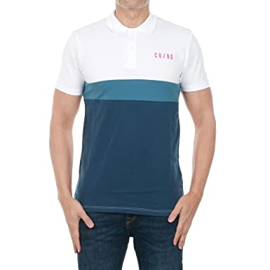 JACK & JONES Polo Hombre M Blanco 12134126 JCOPHANTOM Polo SS ...