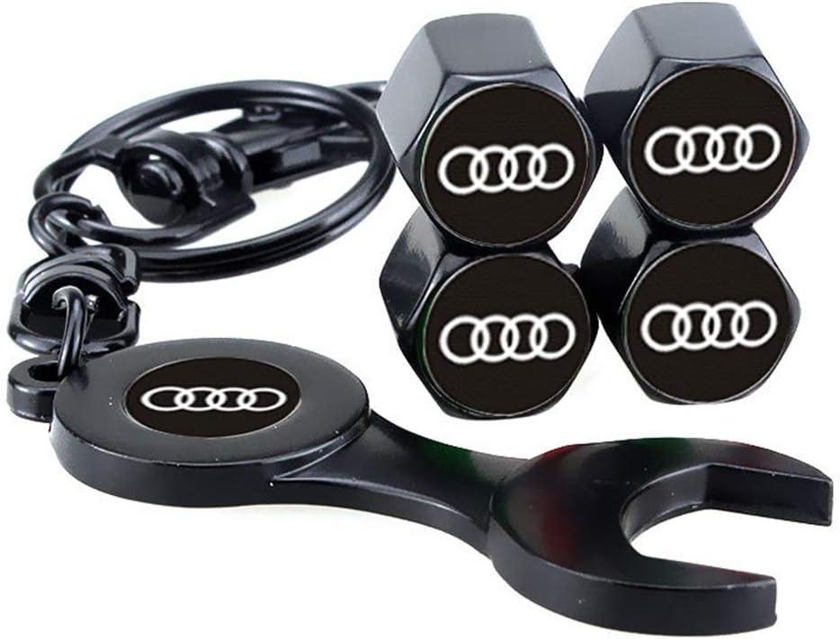 Noir Pour toutes les voitures SUV /Étanche /à la poussi/ère camions Allring Lot de 4 bouchons de valve de pneu de voiture