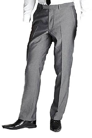 Pantalón de Traje - Básico - para niño Gris Plata/Gris 32 ...