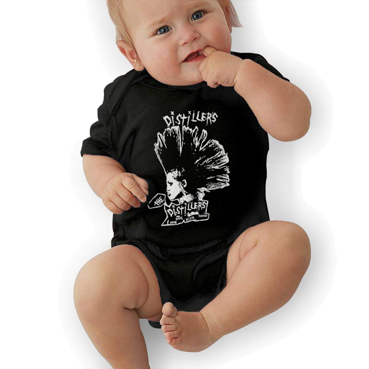 Kids Baby Short Sleeve Romper The-Distillers Unisex Cotton Cute Jumpsuit Baby Crawler Clothes