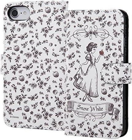 ディズニー iPhone SE(第2世代) / iPhone 8 / iPhone 7 / 6s / 6 手帳型 ケース カバー マグネット式 ICカード収納 大きめ収納 『白雪姫』_13 IN-DP7S6MLC2/SW013