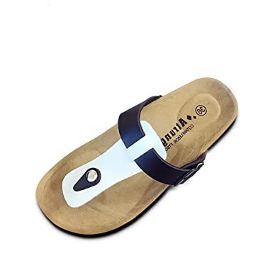 55d5d6d072692 gracosy Women s Flat Sandals T-Strap Flip Flop Mule Summer Comfort Slip On Thong  Sandals Post Thong Shoes Buckle Strap Outdoor Non Slip Casual Walking Shoes  ...