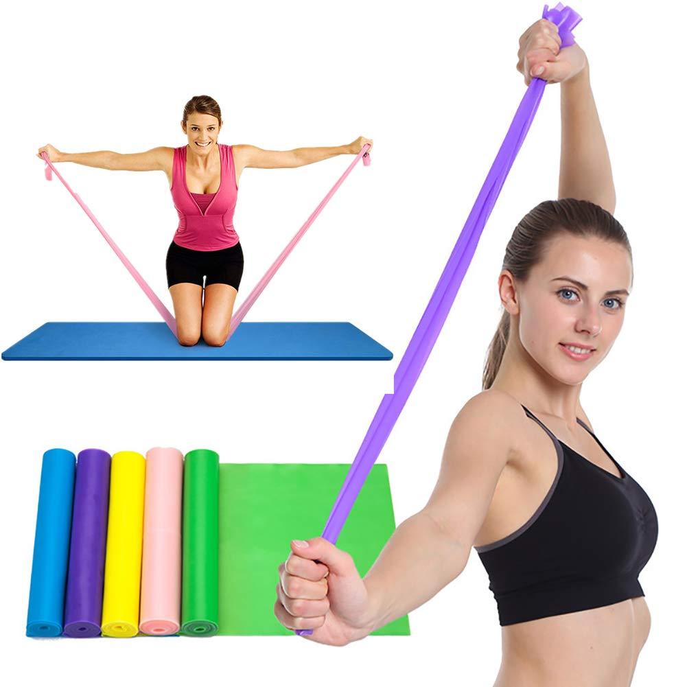 Qingjoy Exercise Band Long Resistance Loop Sport Yoga Elastic