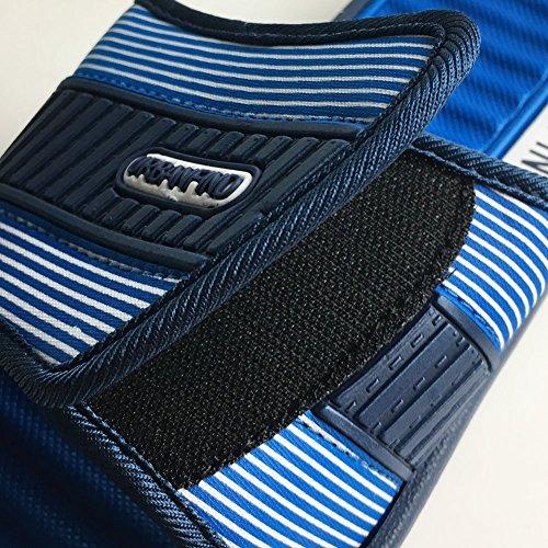 URBANFIND Herrenmode Leichte EVA Streifen Slide Slipper Blau