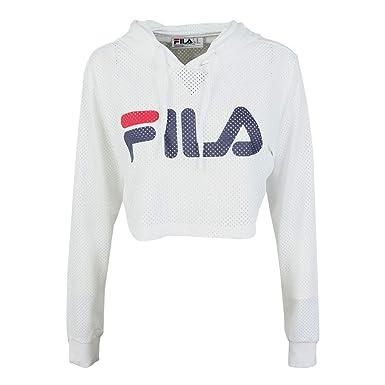 Fila 684450 Felpa Donna Bianco L: Amazon.it: Abbigliamento