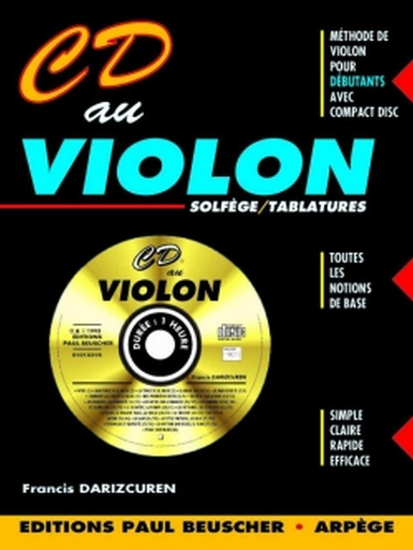 nouvelle qualité pour toute la famille mieux Partition : CD au violon F. Darizcuren: Amazon.fr: Francis ...