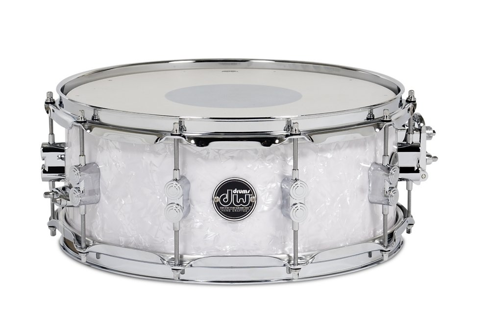 DW Performance Series Snare Drum - 5.5'' x 14'' White Marine Finish Ply